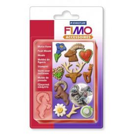 FIMO Vytlačovací Forma Horský motiv