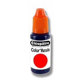 CLEOPATRE Barevná pryskyřice ČERVENÁ - transparentní barvivo pro pryskyřice 15ml