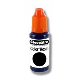 CLEOPATRE Barevná pryskyřice ČERNÁ - transparentní barvivo pro pryskyřice 15 ml