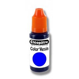 CLEOPATRE Barevná pryskyřice MODRÁ - transparentní barvivo pro pryskyřice 15 ml