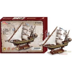 3D puzzle Plachetnice Mystic