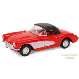 Kovový model auta Chevrolet 57 Corvette