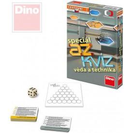 DINO Hra cestovní AZ kvíz speciál Věda a technika