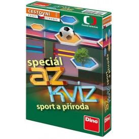 DINO Hra cestovní AZ kvíz speciál Sport a příroda