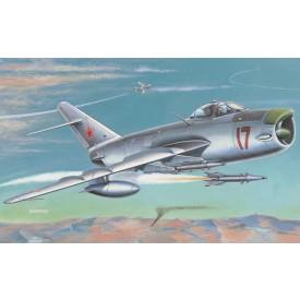 SMĚR Plastikový model letadla Mig 17 PF/PFU/Lim 6M