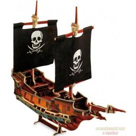 3D puzzle pirátská loď Jack