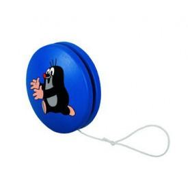 Dřevěné hry Jojo modré s Krtkem běžícím