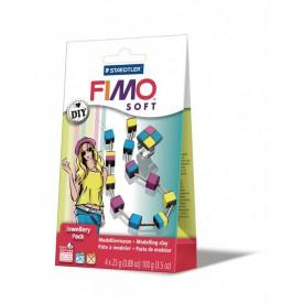 FIMO SOFT DIY Šperková sada KOSTKY