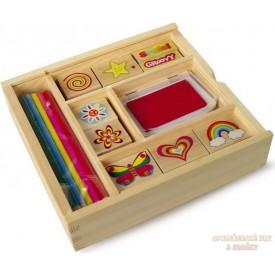 Dětská razítka v krabici
