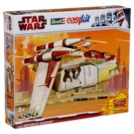Revell EasyKit Star Wars 06667 loď Republic Gunship