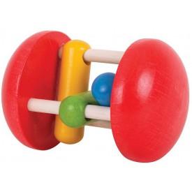 Bigjigs Toys  - Chrastítko Duhový válec