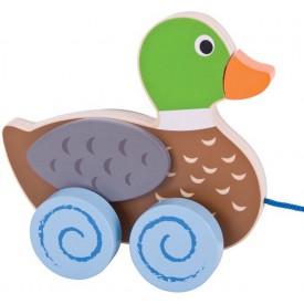 Bigjigs Toys tahací hračka - Kačenka