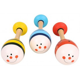 Bigjigs Toys barevná rumbakoule junior zvířáka