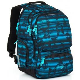 TOPGAL Studentský batoh Blue HIT 864