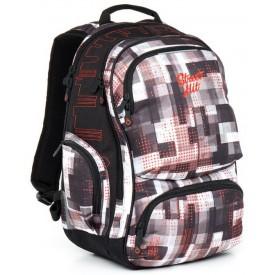 TOPGAL Studentský batoh Grey 866