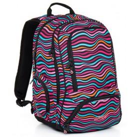 TOPGAL Studentský batoh Pink HIT 858