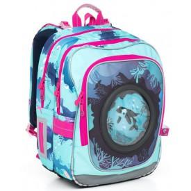 TOPGAL Školní batoh Blue CHI 790