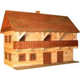 Dřevěná slepovací stavebnice Walachia Fojtství