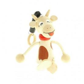 Kráva na pružině