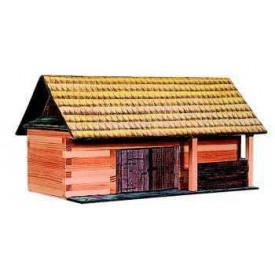 Dřevěná slepovací stavebnice Walachia Stodola