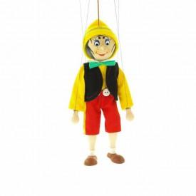 Dřevěné velké loutky - Pinocchio