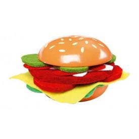 Dřevěné hračky - Kuchyně - Cheeseburger