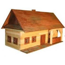 Dřevěná slepovací stavebnice Walachia Usedlost
