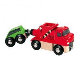 Příslušenství k vláčkodráze - Kamion na odtahování aut