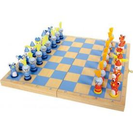 Dřevěné hry - Šachy Rytíř