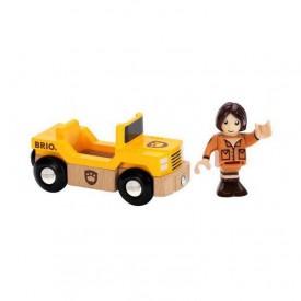Brio - Safari auto s panáčkem