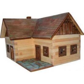 Dřevěná slepovací stavebnice Walachia Samota