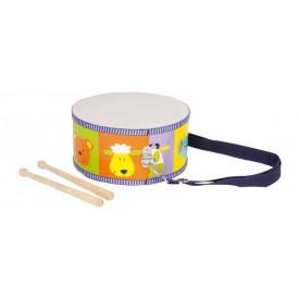 Dětské dřevěné hudební nástroje - Buben zvířata