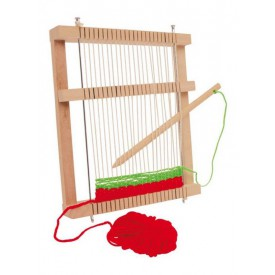 Dřevěné hračky - Tkalcovský rám Mira