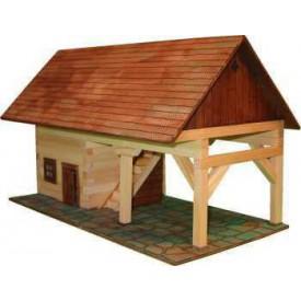Dřevěná slepovací stavebnice Walachia Kolna