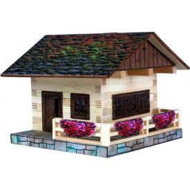 Dřevěná slepovací stavebnice Walachia Alpská chata