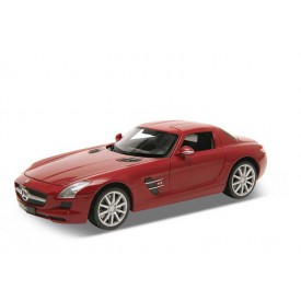 Welly - Mercedes-Benz SLS AMG 1:24 červený