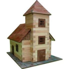 Dřevěná slepovací stavebnice Walachia Kostel