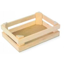 Dřevěné hračky - Malá přepravka na potraviny