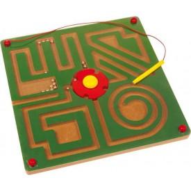 Dřevěné hračky - Magnetické bludiště Abstrakt