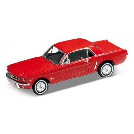 Welly - Ford Mustang 1964 1:24 červený