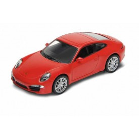 Welly -  Porsche 911 (991) Carrera S Coupe 1:34 červené