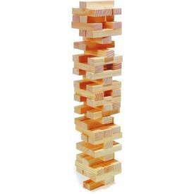 Dřevěné hry - Dřevěná hra Jenga natur
