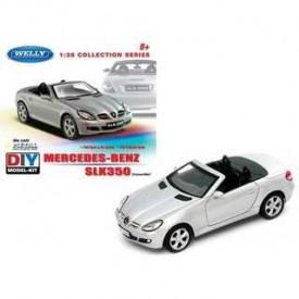 Welly - Mercedes-Benz SLK 350 Kit stavebnice