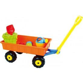 Small Foot Hračky na písek, sada vozík