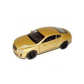 Welly - Bentley Continental Supersports 1:34 zlaté