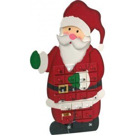 Legler Adventní kalendář Santa Claus