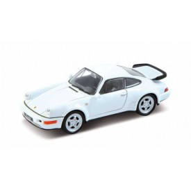 Welly - Porsche 964 Turbo 1:34 bílé