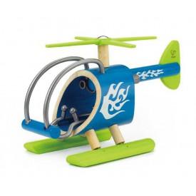 HAPE dřevěné hračky - dřevěný vrtulník E-copter