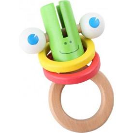 Dřevěné hračky pro nejmenší - Motorická pestrost