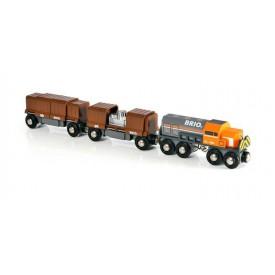 Souprava nákladní vlak (lokomotiva+2vagony)